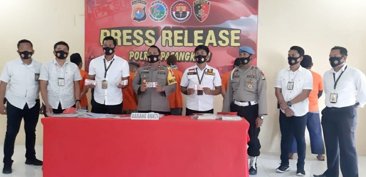 Gambar Polres Pasangkayu Ungkap Dugaan Korupsi di Dinas Perkebunan Provinsi Sulbar