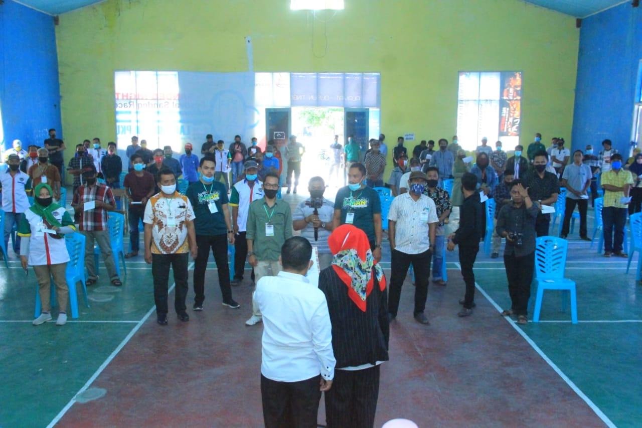 img Tim Pemenangan Patma-Lukman Sendana dan Tammero'do Dilantik