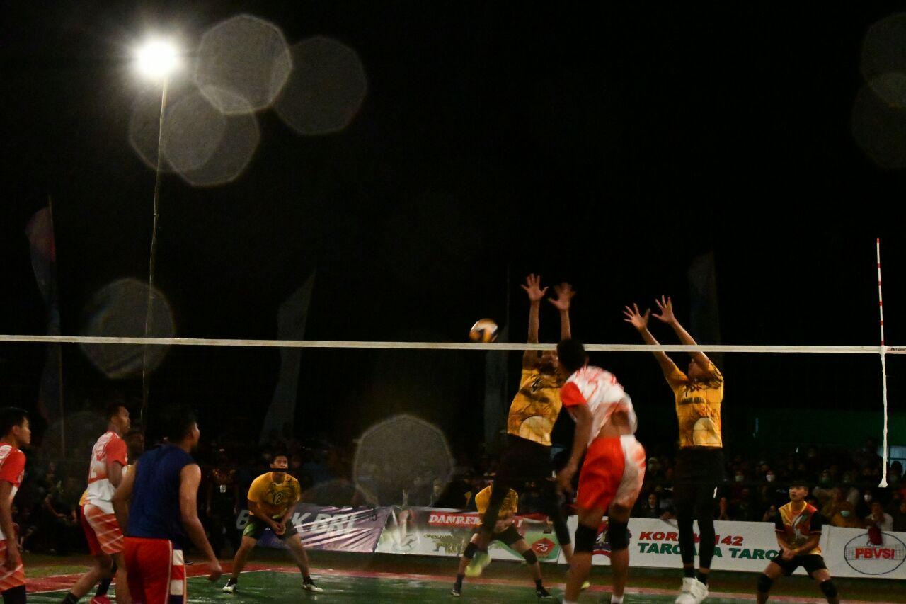 img Hujan Deras Tunda Semi Final Danrem Cup I