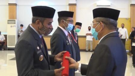 img Pelantikan Pjs Bupati Majene dengan Protokol Kesehatan Covid-19
