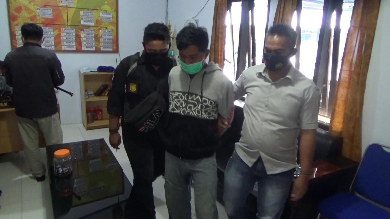 Gambar Pelaku Pencabulan Anak Angkat di Mamasa, Diciduk Polisi