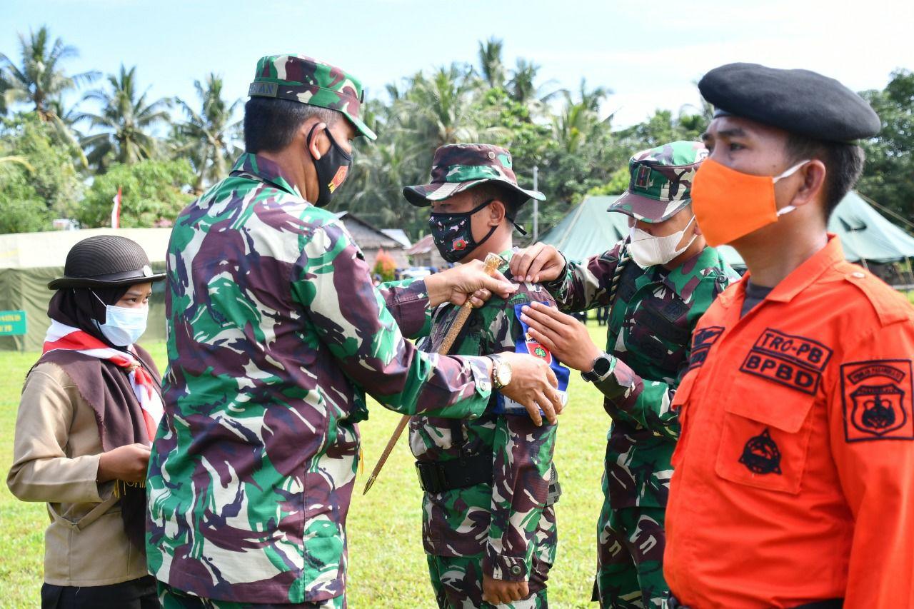 img Danrem Buka Latihan Penanggulangan Bencana di Pasangkayu