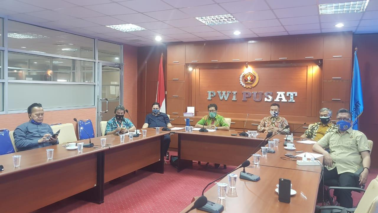 img Diskusi Mappilu PWI: Kerjasama Berbagai Pihak Kunci Mengantisipasi Masalah Keamanan dan Kesehatan saat Pilkada
