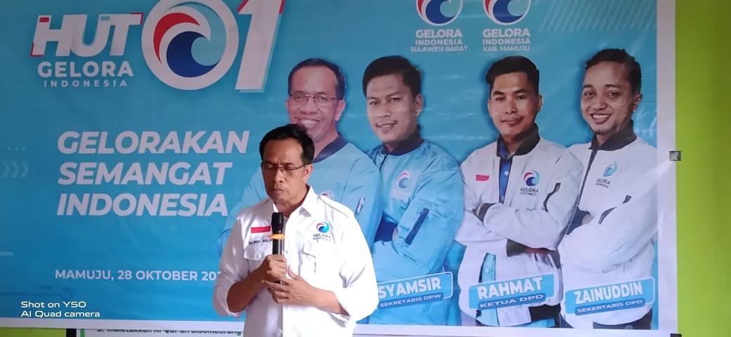 img HUT Partai Gelora Ke-1, Hajrul: Lahir dengan Semangat Pemuda