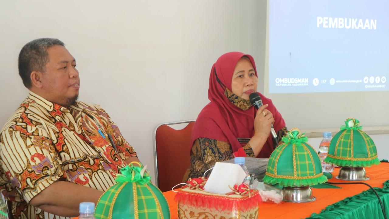 Sambang Desa, Ombudsman berikan Penguatan Layanan Publik Prima