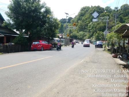 Gambar Perbaikan Jalan di KM 10 Ruas Kalukku Selesai, Ombudsman Tutup Laporan