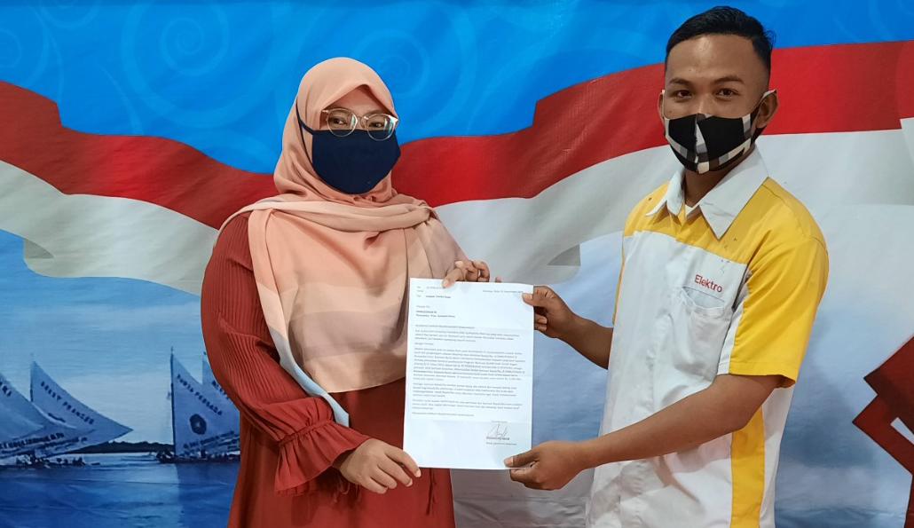 Gambar Terima Kasih Ombudsman, Beasiswa Kami Sudah Cair