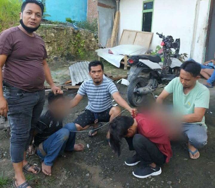 Gambar Hanya Butuh 3 Jam, Phyton Polresta Mamuju Bekuk Kawanan Pencuri Lintas Kabupaten